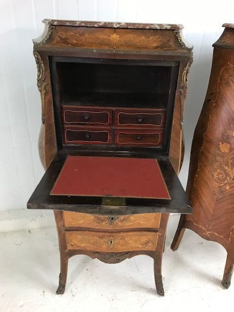 COMING SOON - Superb French Secretary Desks in the Louis XV Style - a66